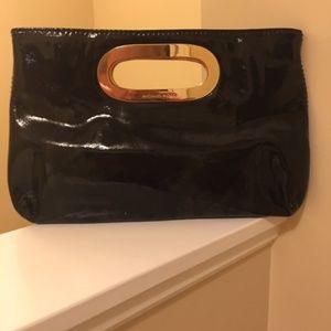 MICHAEL Michael Kors Bags - Michael Kors Black Patent Leather Clutch